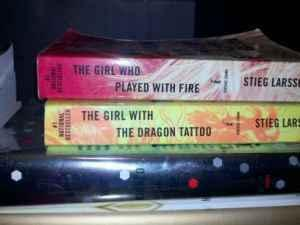 STIEG LARSON DRAGON TATTOO SERIES - $20 (Tulare )