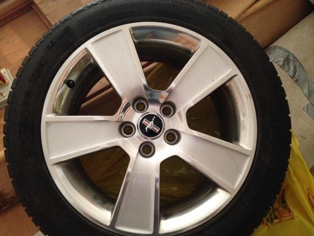 Stock 2007 mustang GT wheels and tires for Sale in ...