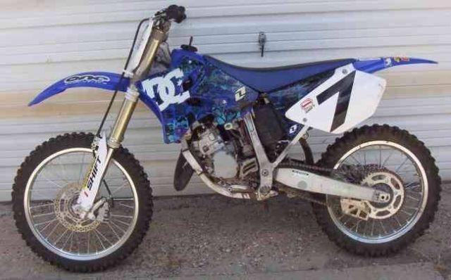 Stolen 2006 Yamaha Yz125 Parts Engine 2006 Yamaha