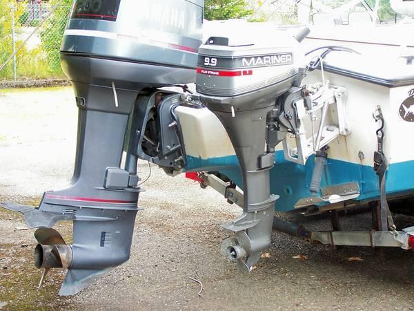 STOLEN OUTBOARD MOTOR 2000 MARINER 9.9 FOUR STROKE - $1