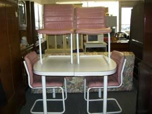 Stoneville Furniture™ Table & 4 Chairs With Polyurethane
