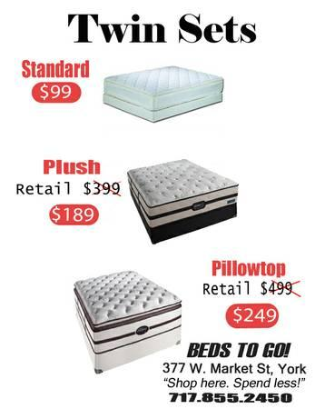 *** STOP RENTING YOUR MATTRESS! *** - $99