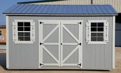 Storage shed 10x16 portable garden shed side utility