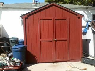 Storage Shed Large 12 X 24 With Interior Electric Wiring