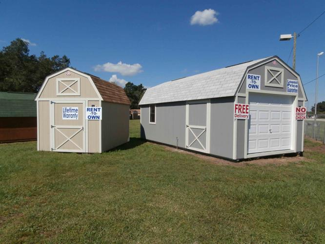 Storage Sheds New And Used Rent To Own No Credit Check for ...