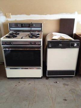Stove/Oven-Dishwasher-Matching Whirlpool-Working
