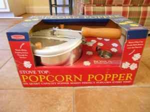 Stove Top Popcorn Popper - $15 Daphne