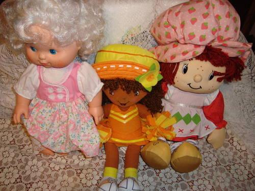 Strawberry Shortcake, Angelcake Blow Kiss, Orange