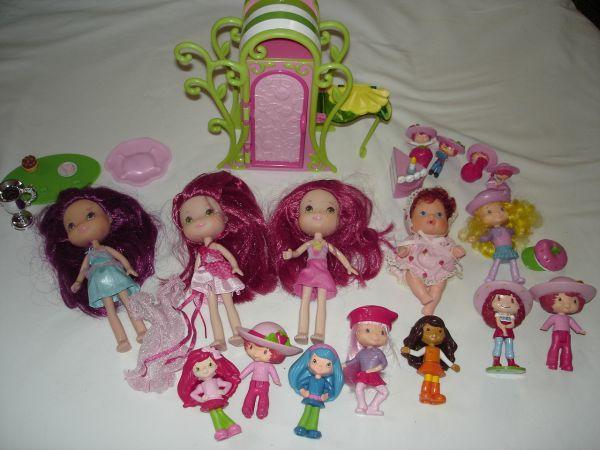 Strawberry Shortcake Dolls Pvc Figures Sand Springs