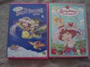 Strawberry Shortcake DVD set of 2 - $20 (Fort Gordon)