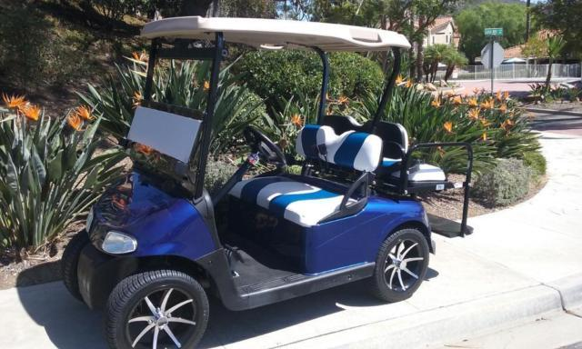 Street Legal Ezgo Rxv 48 Volt Golf Cart Lifted Cart Lots
