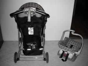 STROLLER and CARSEAT (evenflo) - $50 (chandler, in.)