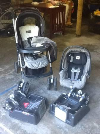 Stroller  Car Seat  2 bases - Peg Perego - EXCELLENT condition - $175