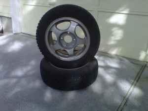Studded Snow Tires - $350 (Bend)