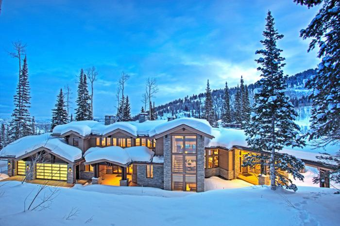 Stunning Mountain Contemporary Masterpiece Sold Turn