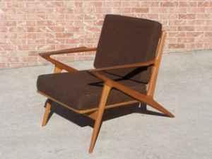 Stunning Poul Jensen Z Chair   Danish Teak   $1175