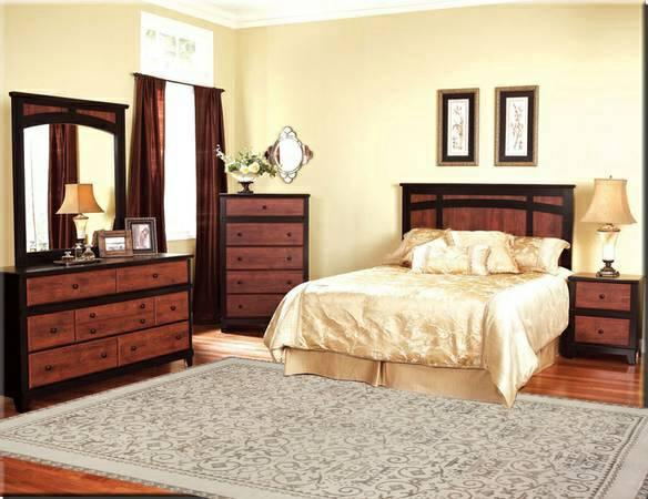 stylish complete 7 pc bedroom set w new pillow top