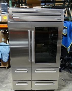Sub zero pro 48 built in stainless refrigeratorfreezer wglass door sub zero pro 48 built in stainless refrigeratorfreezer planetlyrics Images