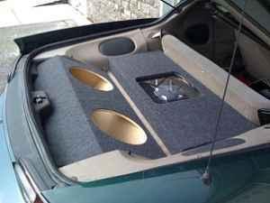 Subwoofer Box Enclosure Speaker Box G35 Corvette