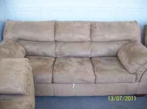 Suede Leather Sofa Sleeper Loveseat Recliner Leesburg