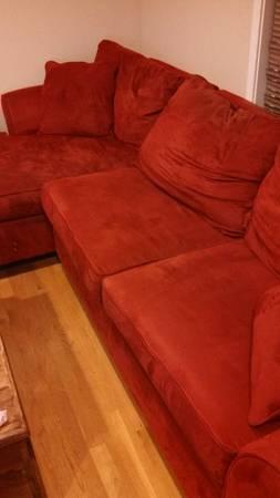 Suede Micro fiber sofa - $229