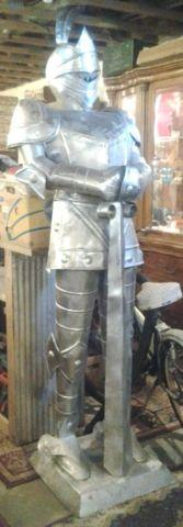 Suit Of Armor Knight Statue For Sale In Eleroy Illinois