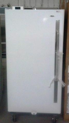 Summit Commercial Refrigerator on heavy duty casters