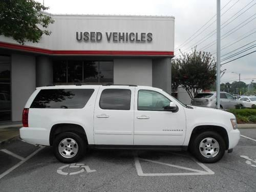 summit white 2008 chevrolet suburban 1500 4wd sport suv carfax we fina for sale in greensboro. Black Bedroom Furniture Sets. Home Design Ideas