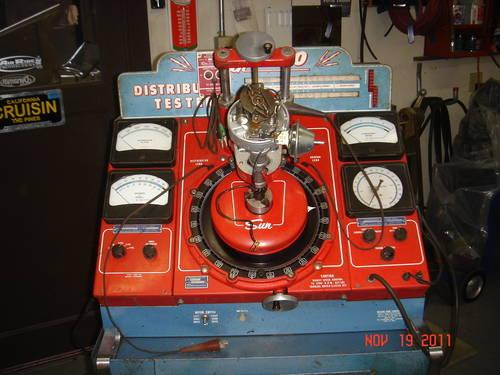 Sun Distributor Machine. Model 500 With Amplifier. For