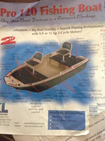 SUN DOLPHIN PRO 120 BASS BOAT - for Sale in Durham, North ...