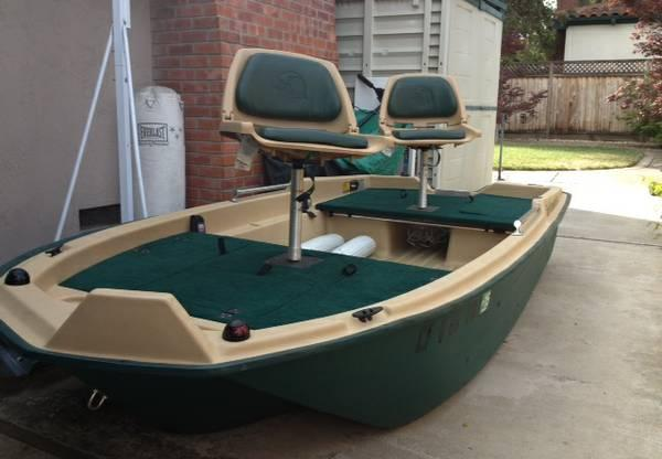 Sun dolphin pro 120 fishing boat for sale in san jose for How much is a fishing license in california