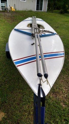 Sun Fish Sailboat all rigging & trailer