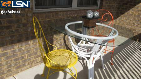 Sun-room furniture - $100