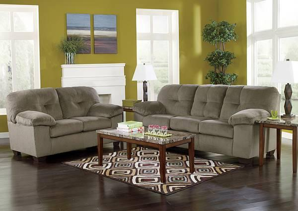 Super comfortable affordable sofa from ashley for sale for Super comfortable sectional sofa