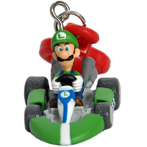 Super Mario Bros Kart Wii Keychain