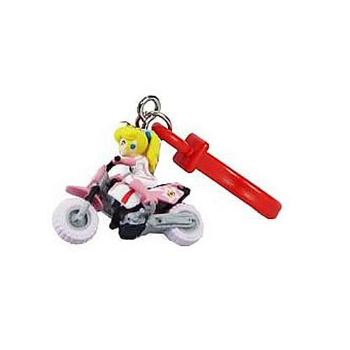 Super Mario Bros Mario Kart Wii Keychain Princess Peach