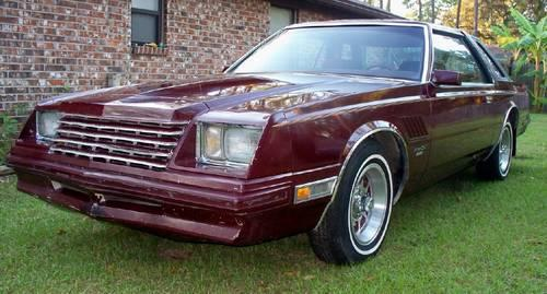 super rare 1980 dodge mirada cmx with e58 360 4barrel engine 1 of 76 for sale in jacksonville. Black Bedroom Furniture Sets. Home Design Ideas