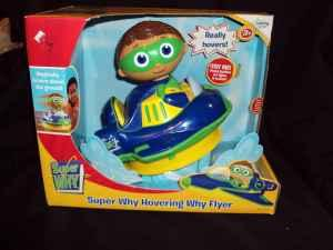 Super Why Hovering Why Flyer - $15 (St. Clairsville)