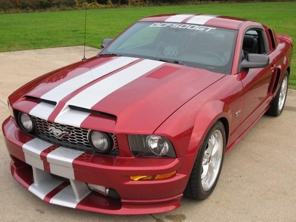 supercharged dcf500 mustang gt premium 15 000 original miles for sale in solon ohio. Black Bedroom Furniture Sets. Home Design Ideas