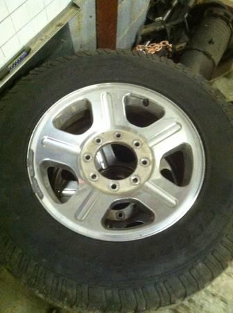 Superduty wheels F350 F250 BF Goodrich Sell It Now - $300