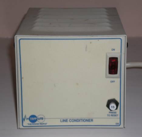 Surge protector  line conditioner - Tripp Lite LC1200 - $60