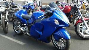 Suzuki Hayabusa GSXR 1300. Wet Summer Deal