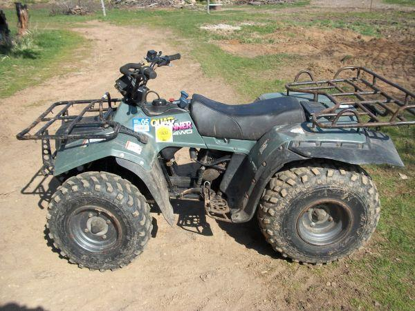 Suzuki Quad Runner 250 4x4 - $1250 (Edgar)