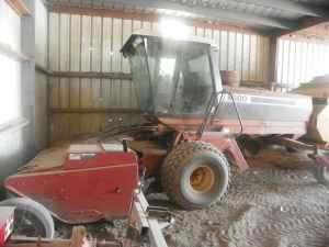 swather Hesston 8500 disc mower - $28000 (morrowville ks)