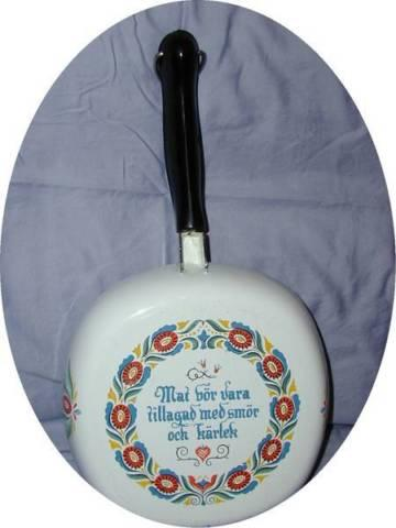 Swedish Enamel Skillet