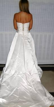 Wedding Dress Hire on Sweetheart Wedding Dress Diamond White   W282l  Size 8 For Sale In