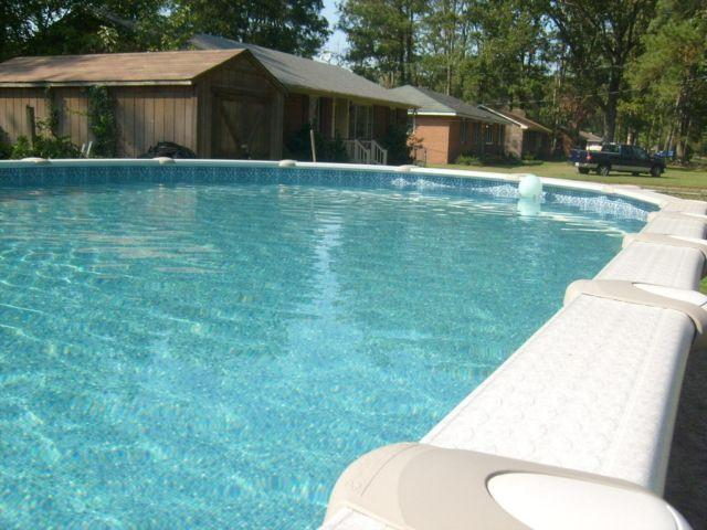 Swimming pool 33x18x54 above ground for sale in suffolk virginia classified for Above ground swimming pools sale