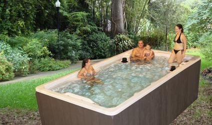 Swimming Pool Alternative A Honey Swim Spa For Sale In
