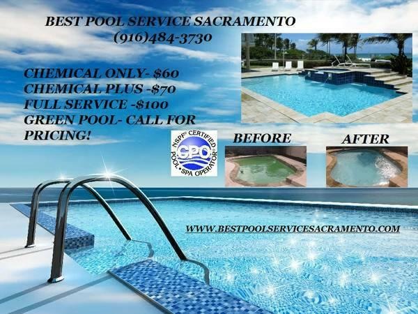 Swimming Pool Service Starting Per Month For Sale In Elk Grove California Classified