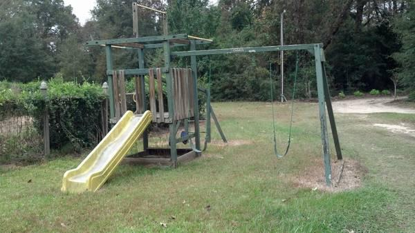 Swing Set, Childlife, Solid Wood - $300